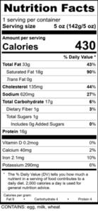 beef-welington-nutritional-label